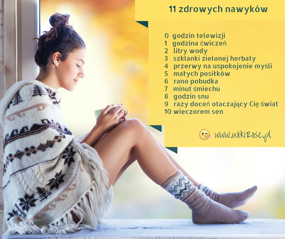11 zdrowych nawyków
